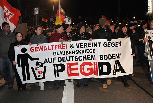 Thousands join anti-Islam rally in Germany