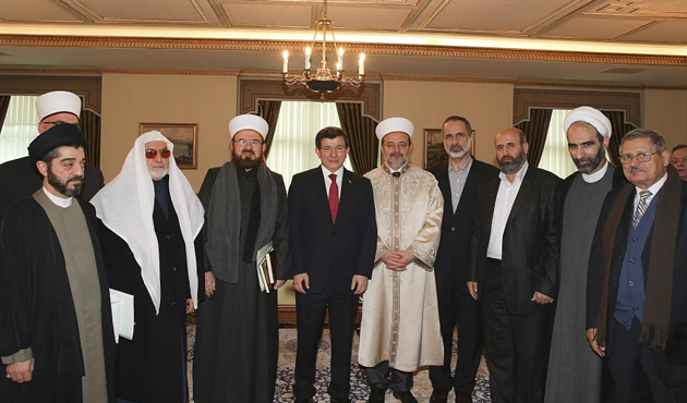 Davutoglu Meets Peace and Moderation Permanent Contact Group