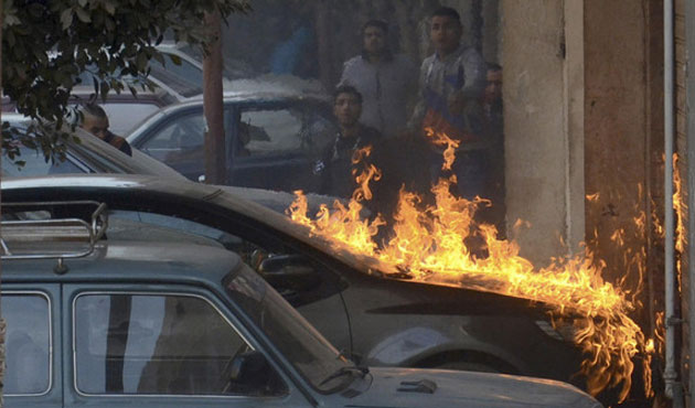 Homemade bomb explodes in Cairo