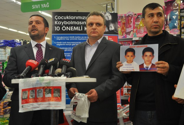 Searching for Turkey's missing children
