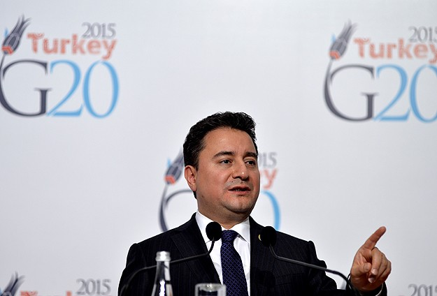 Turkey's Babacan says world economic outlook 'better' in 2015
