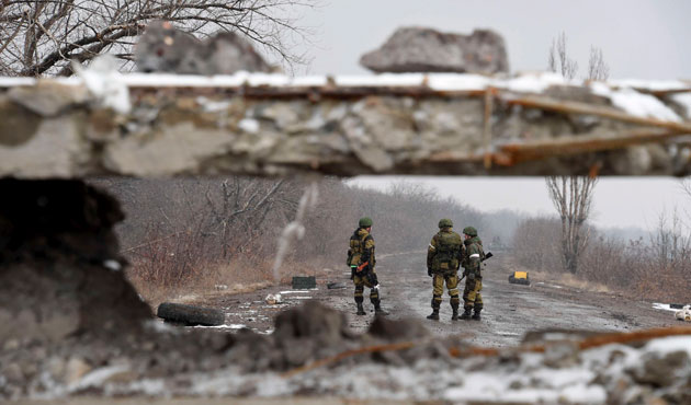Ukraine military says one servicemen killed, six wounded