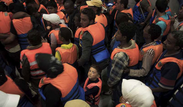 UN urges Europe to start major migrant rescue mission in Mediterranean