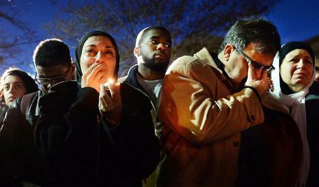 Mourn After Young Muslims Gunned Down