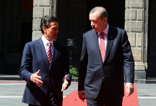 Turkey, Mexico can boost trade to $5B, says Erdogan