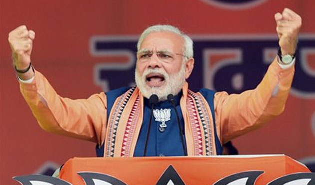 Modi says India to strike own path in climate battle