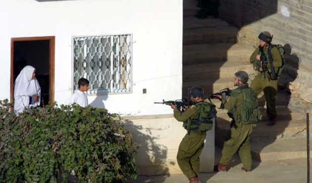 Israel opens fire on Palestinians once again