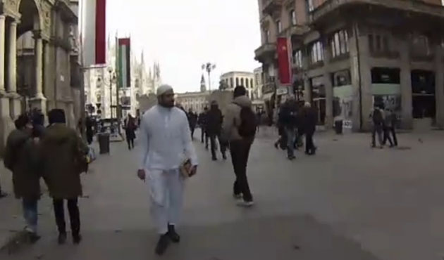 Muslim insulted and shouted at in Milan