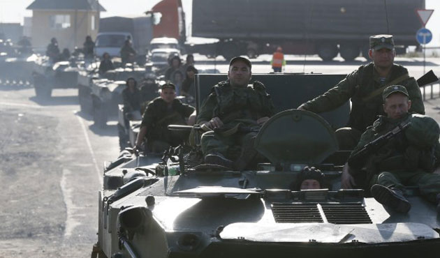 Russian army starts exercises in Crimea