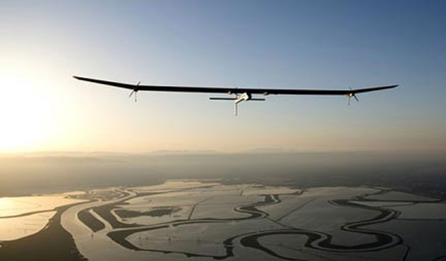 Solar plane lands in India after 2nd leg of world tour