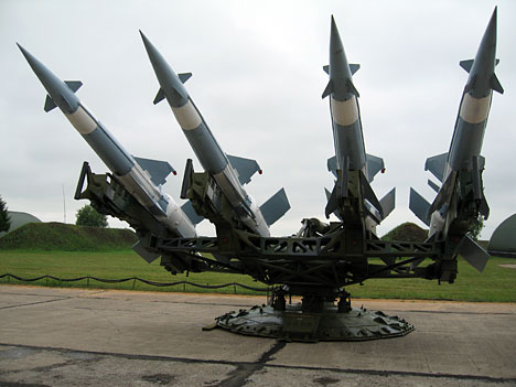 Algeria sends air-to-surface missiles to Tunisia