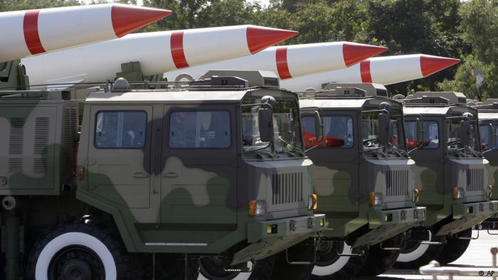 China world's third largest arms exporter