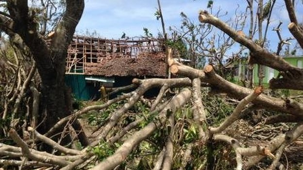Reports of devastation, death after Vanuatu cyclone