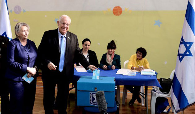 45.4% of Israelis cast ballots in 9 hours