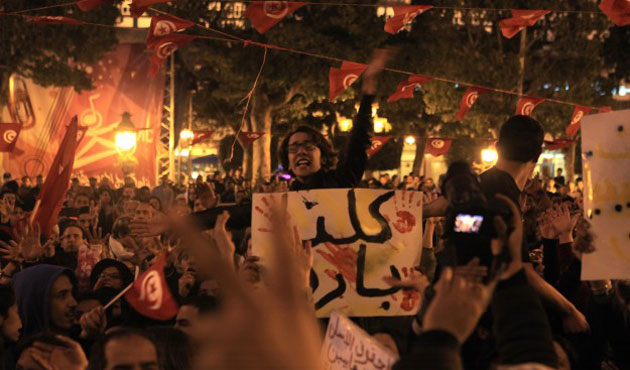 Tunisians rally against terrorism after museum attack
