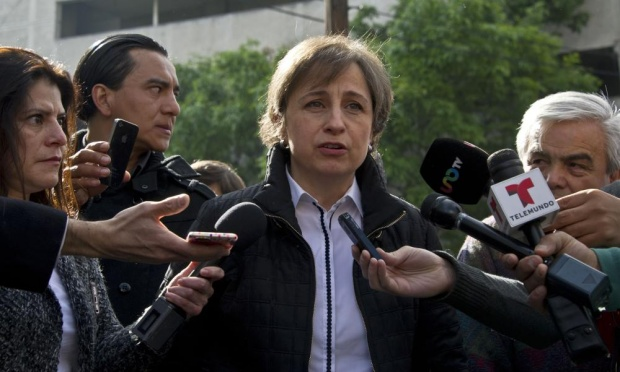 Mexican journalist says bosses tried to block story