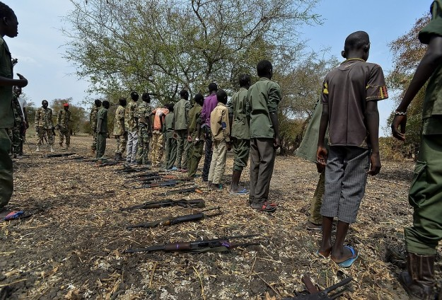 S. Sudan army releases 36 child soldiers