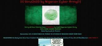 Website of Nigerian electoral commission hacked