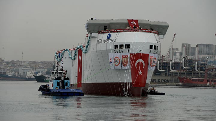 First Turkish-made seismic survey vessel launched