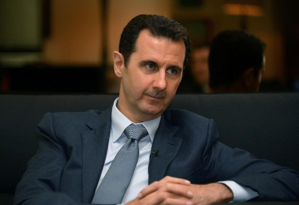 Assad: fight against 'terror' trumps fight against Israel