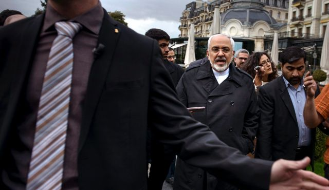 Iranian FM in New York for talks