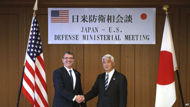 US Defence Chief: No militarization in Asian waters