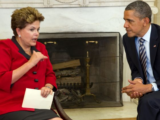 Obama, Rousseff stress infrastructure integration at summit