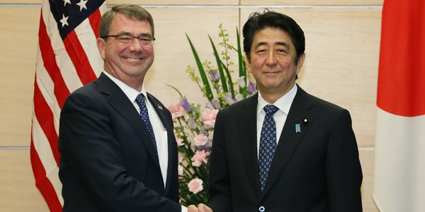 US and Japan sign bilateral defence agreement