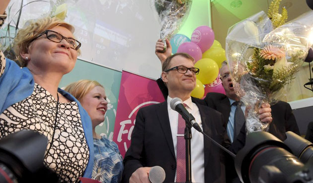 Finland's opposition party wins elections
