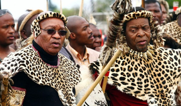 S.Africa's Zulu king condemns 'vile' anti-immigrant attacks