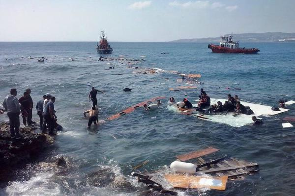 Boat carrying migrants sinks in Aegean Sea