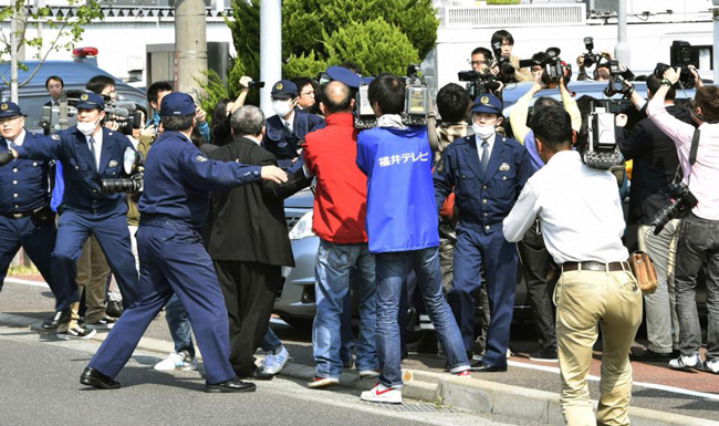 Japanese man arrested for landing drone on PM's office