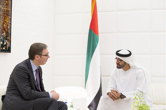Serbia signs deal with Abu Dhabi