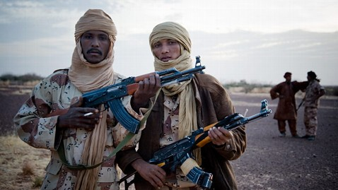 Mali Tuareg rebels fire on U.N. peacekeepers