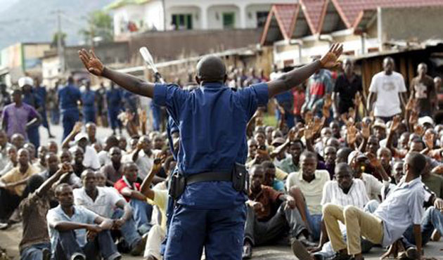 Burundi tells foreign envoys to stay neutral over unrest