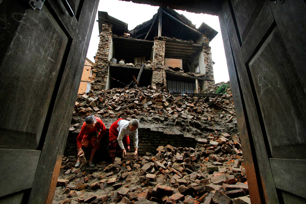 2 years on, little sign of recovery in post-quake Nepal
