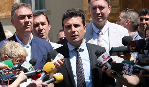 Macedonian opposition leader announces protest