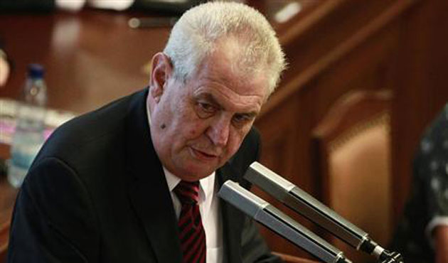 Czech president accuses Kosova PM as war criminal