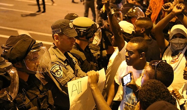 Ethiopians in Israel protest police brutality
