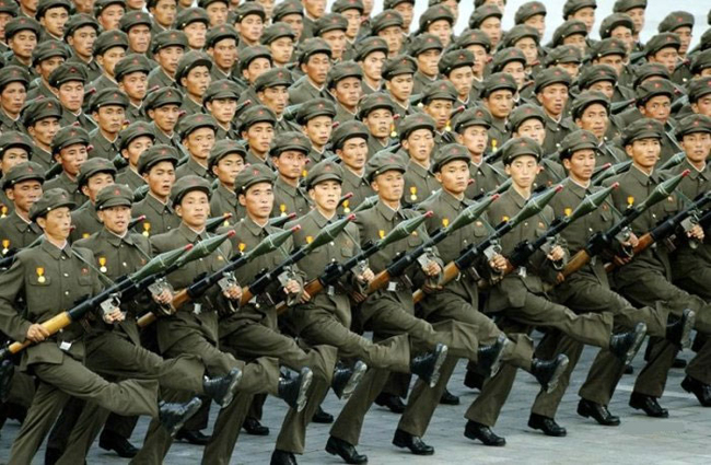 China detains 10 for spreading military rumours