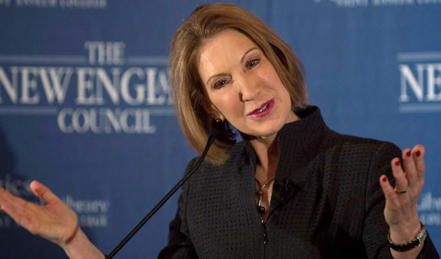 ex-HP CEO Carly Fiorina enters White House race