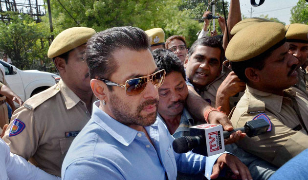 Bollywood star Salman Khan sentenced to 5 years for homicide