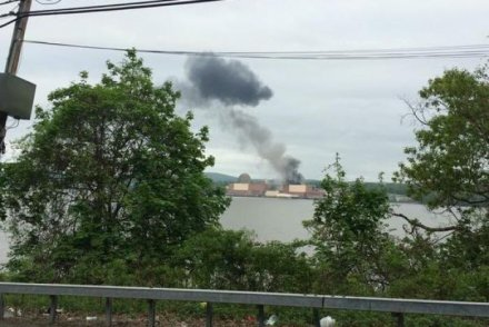 Transformer fire at New York nuclear plant