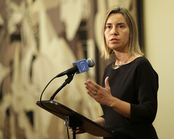 Mogherini says EU respects Turkish vote