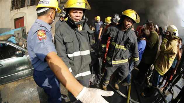 31 workers killed, many missing in Philippines fire