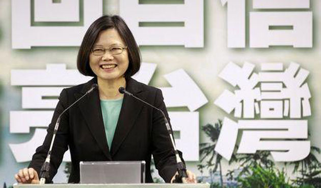 China warns Taiwan opposition leader