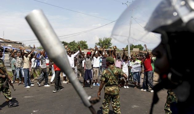 Coup attempt failed in Burundi
