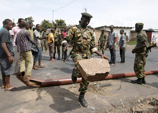 Burundi takes 17 in failed coup to high court