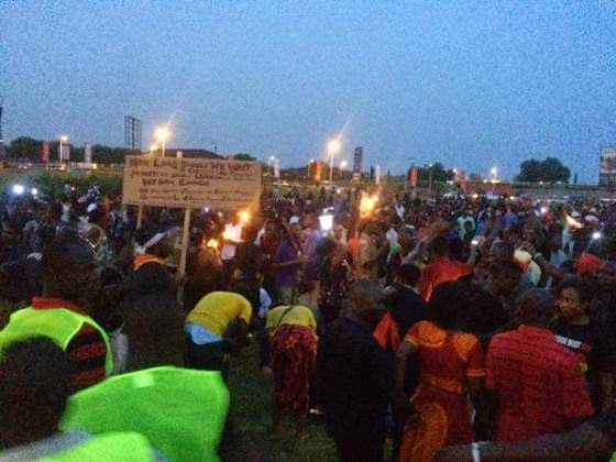 Ghanaians protest power cuts; hope govt will listen