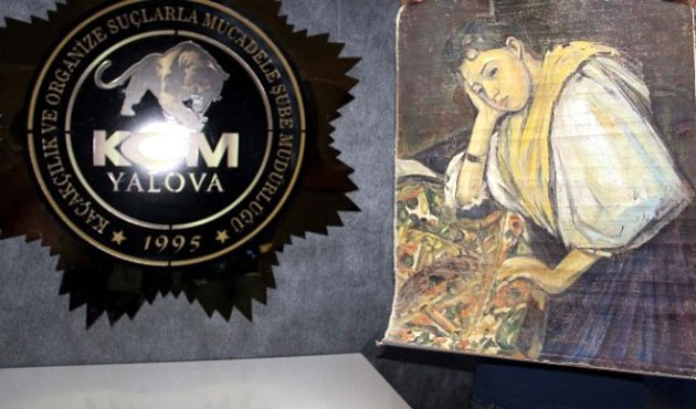 Alleged Cézanne painting seized in Turkey